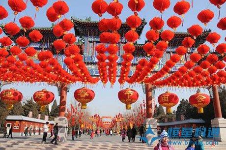 北京莲花池公园庙会应急广播系统